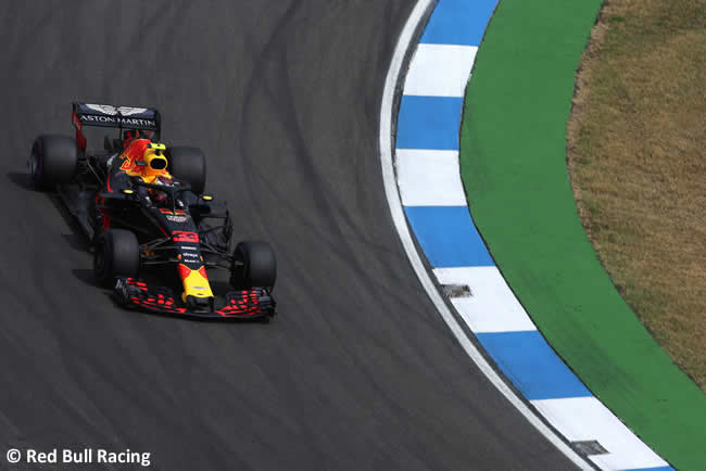 Max Verstappen - Red Bull Racing - Clasificación - GP Alemania Hockenheim 2018