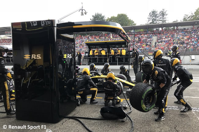 Nico Hulkenberg - Renault - Carrera - GP Alemania Hockenheim 2018