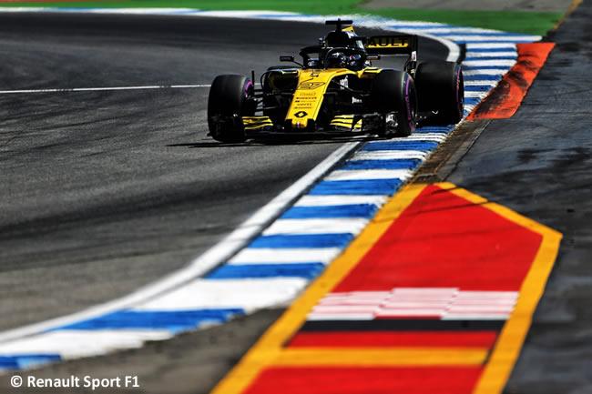 Nico Hulkenberg - Renault Sport - Entrenamientos - GP Alemania Hockenheim 2018