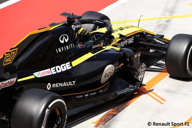 Nico Hulkenberg - Renault - Test Temporada Hungría 2018 - Día 1