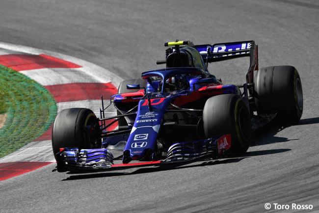 Pierre Gasly - Toro Rosso - Carrera GP Austria 2018