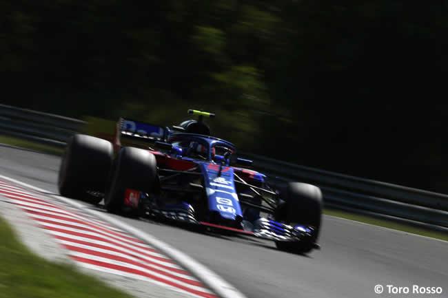 Pierre Gasly - Toro Rosso - Carrera GP Hungría 2018