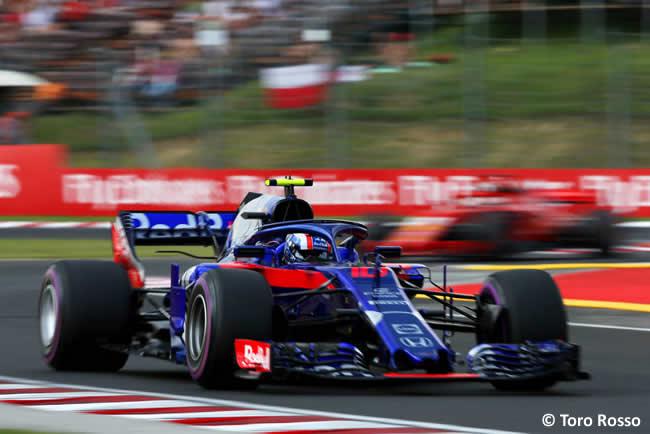 Pierre Gasly - Toro Rosso - Entrenamientos GP Hungría 2018