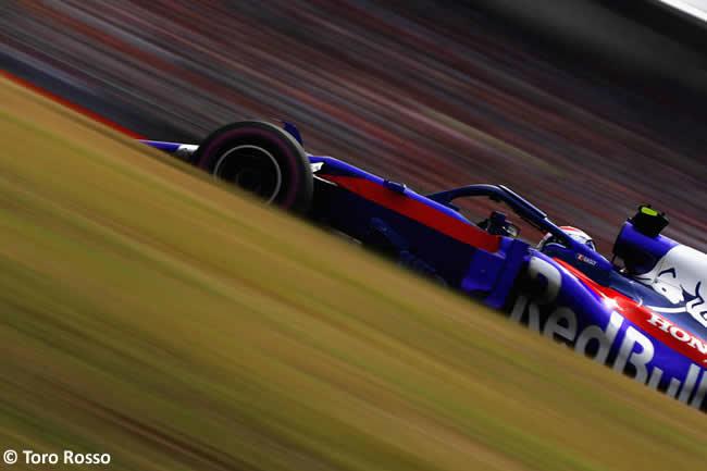 Pierre Gasly - Toro Rosso - Clasificación - GP Alemania Hockenheim 2018