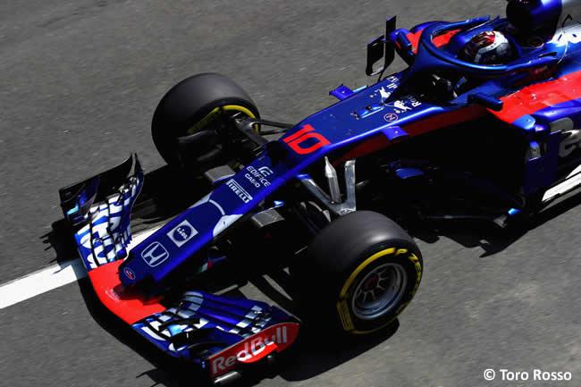 Pierre Gasly - Toro Rosso - GP Gran Bretaña 2018 - Clasificación