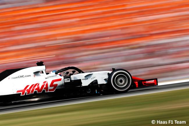 Romain Grosjean - Haas - Carrera - GP Alemania Hockenheim 2018