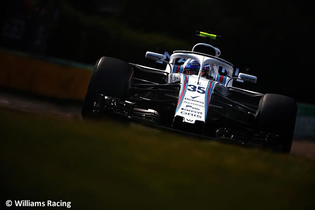 Sergey Sirotkin - Williams - Entrenamientos GP Hungría 2018