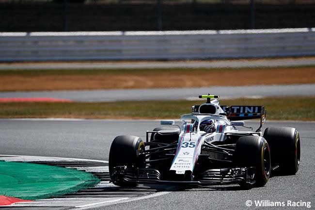 Sergey Sirotkin - Williams - GP Gran Bretaña 2018 - Entrenamientos
