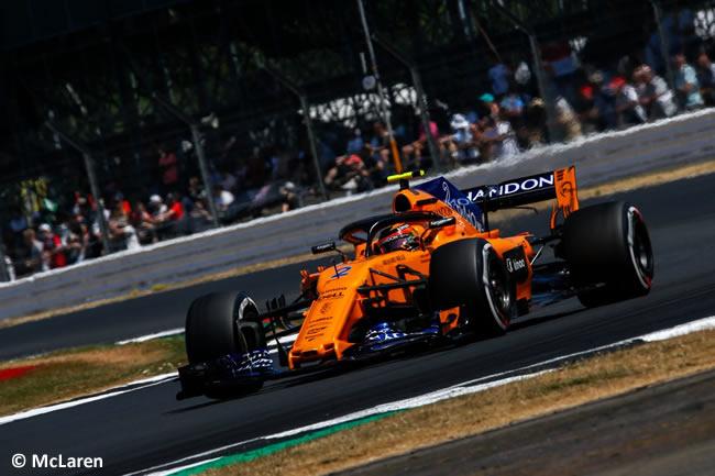 Stoffel Vandoorne - McLaren - GP Gran Bretaña 2018 - Clasificación