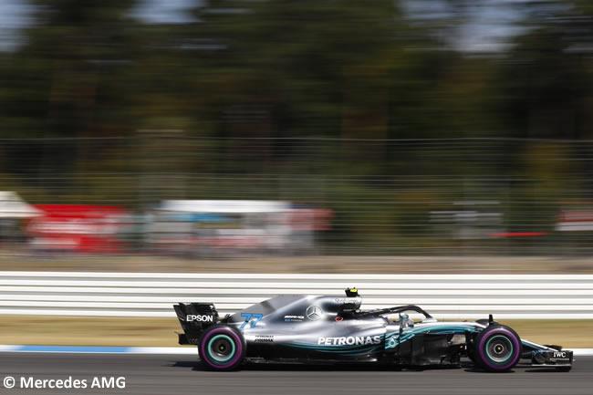 Valtteri Bottas - Mercedes AMG - Clasificación - GP Alemania Hockenheim 2018