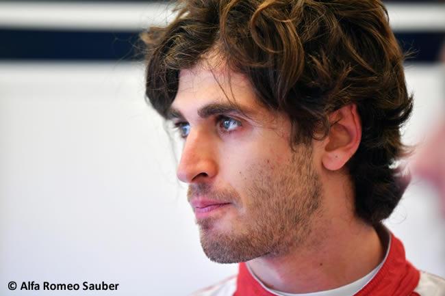 Antonio Giovinazzi -Sauber - Test Temporada Hungría 2018 - Día 2