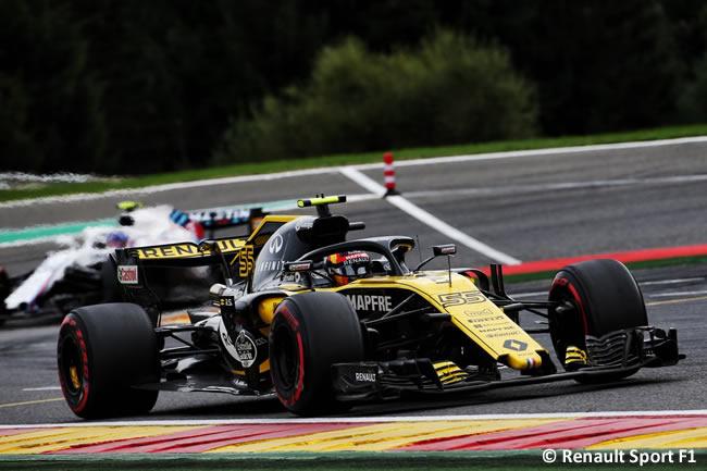 Carlos Sainz - Renault - Carrera Gran Premio Bélgica 2018
