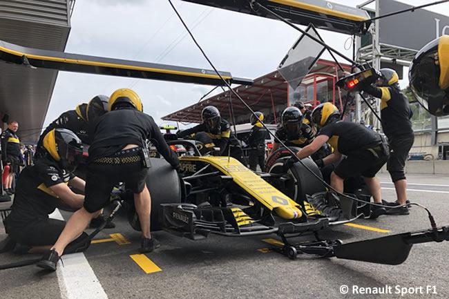 Carlos Sainz - Renault - Entrenamientos Gran Premio Bélgica 2018