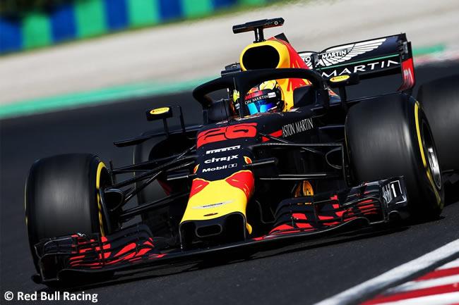 Jake Dennis - Red Bull Racing - Test Temporada Hungría 2018 - Día 2
