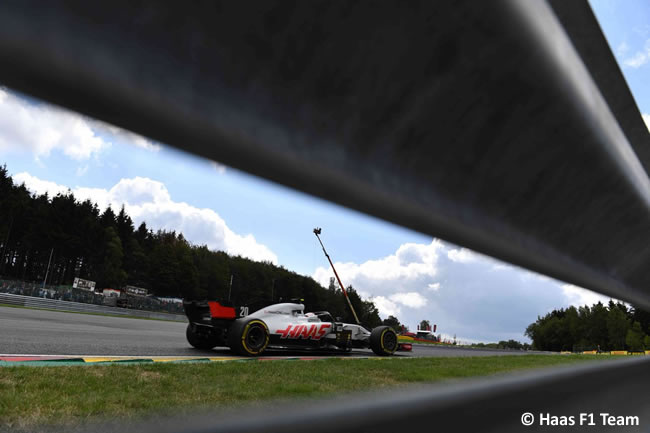 Kevin Magnussen - Haas F1 - Carrera Gran Premio Bélgica 2018