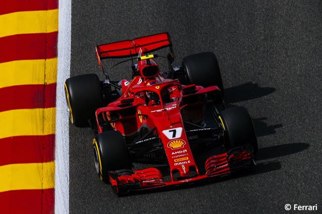 Kimi Raikkonen - Scuderia Ferrari - Entrenamientos Gran Premio Bélgica 2018