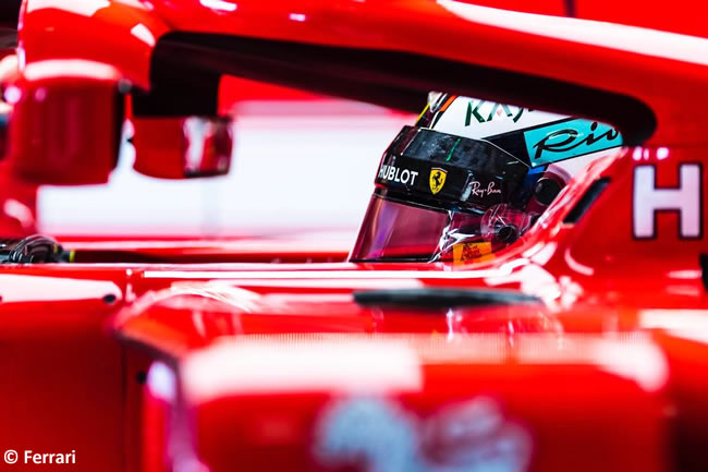 Kimi Raikkonen - Scuderia Ferrari - Test Temporada Hungría 2018 - Día 2