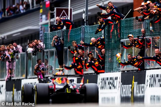 Max Verstappen - Red Bull Racing - Carrera Gran Premio Bélgica 2018