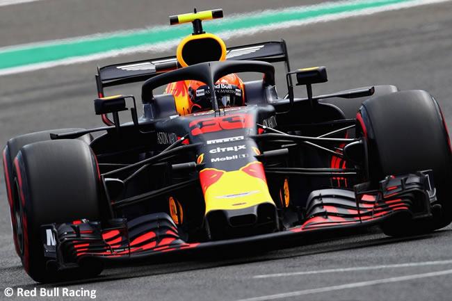 Max Verstappen - Red Bull Racing - Entrenamientos Gran Premio Bélgica 2018