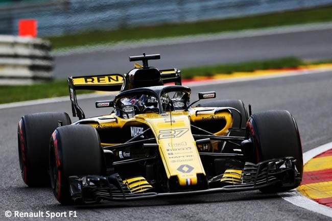 Nico Hulkenberg - Renault - Entrenamientos Gran Premio Bélgica 2018