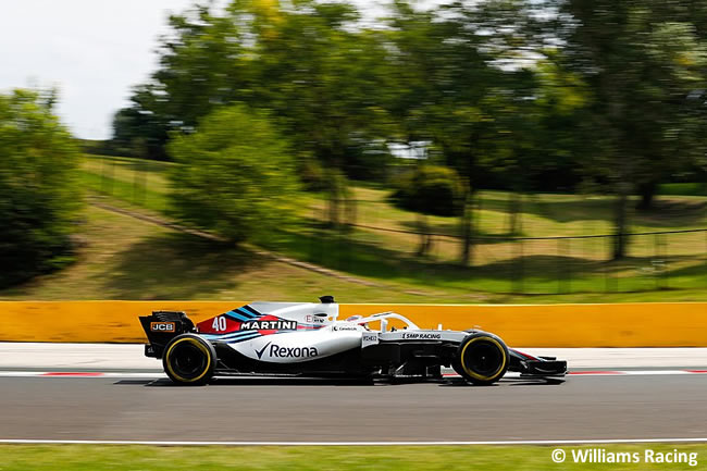 Robert Kubica - Williams - Test Temporada Hungría 2018 - Día 2