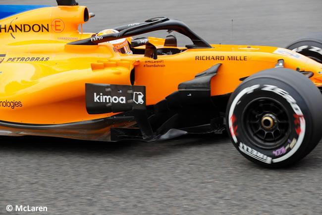 Stoffel Vandoorne - McLaren - Carrera Gran Premio Bélgica 2018