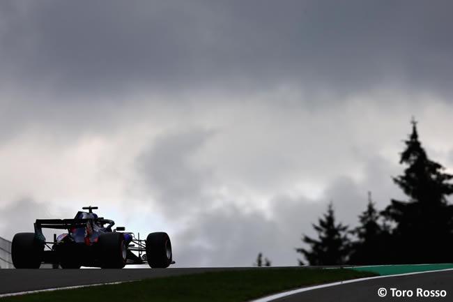 Toro Rosso - Entrenamientos Gran Premio Bélgica 2018