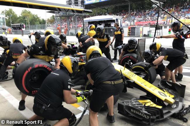 Carlos Sainz - Renault - Entrenamientos Gran Premio Italia 2018