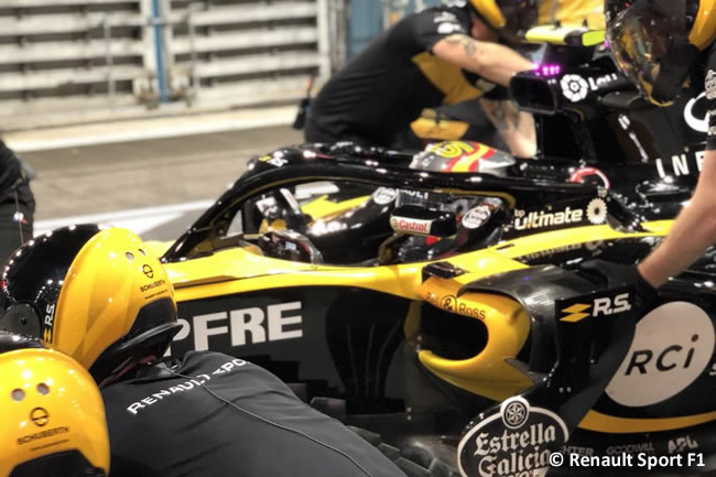 Carlos Sainz - Renault - Entrenamientos - GP Singapur 2018