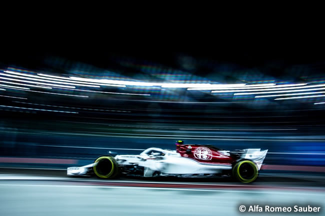 Charles Leclerc - Alfa Romeo Sauber - Clasificación GP Singapur 2018
