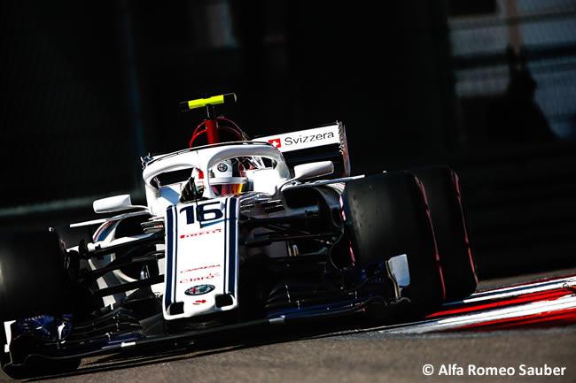 Charles Leclerc - A.R. Sauber - Clasificación GP Rusia 2018