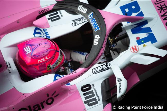 Esteban Ocon Force India - Clasificación Gran Premio Italia 2018