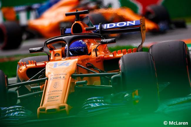 Fernando Alonso - McLaren - Clasificación Gran Premio Italia 2018