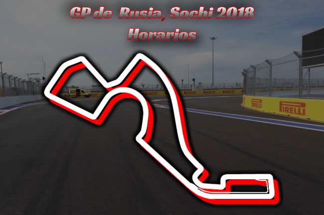 Horarios Gran Premio Rusia 2018
