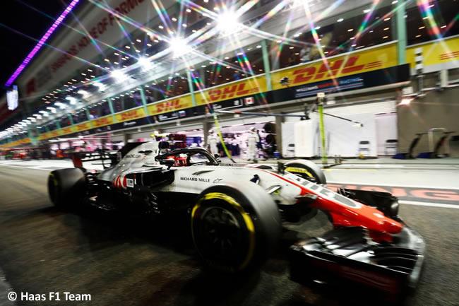 Kevin Magnussen - Haas F1 - Carrera GP Singapur 2018