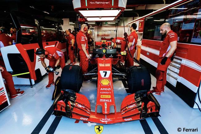 Kimi Raikkonen - Scuderia Ferrari - Entrenamientos - GP Singapur 2018