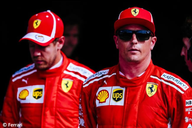Kimi Raikkonen - Scuderia Ferrari - Clasificación Gran Premio Italia 2018