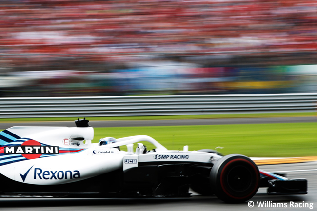 Lance Stroll - Williams - Carrera Gran Premio Italia 2018