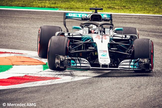 Lewis Hamilton - Mercedes - Carrera Gran Premio Italia 2018
