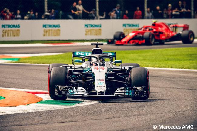 Lewis Hamilton - Mercedes - Clasificación Gran Premio Italia 2018