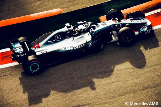 Lewis Hamilton - Mercedes AMG - Carrera GP Rusia 2018