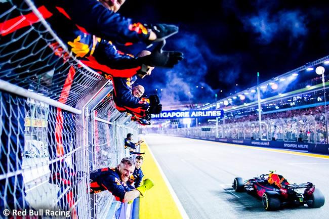 Max Verstappen - Red Bull - Carrera GP Singapur 2018