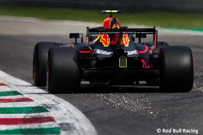 Max Verstappen - Red Bull - Clasificación Gran Premio Italia 2018