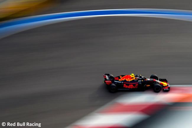 Max Verstappen - Red Bull - Clasificación GP Rusia 2018