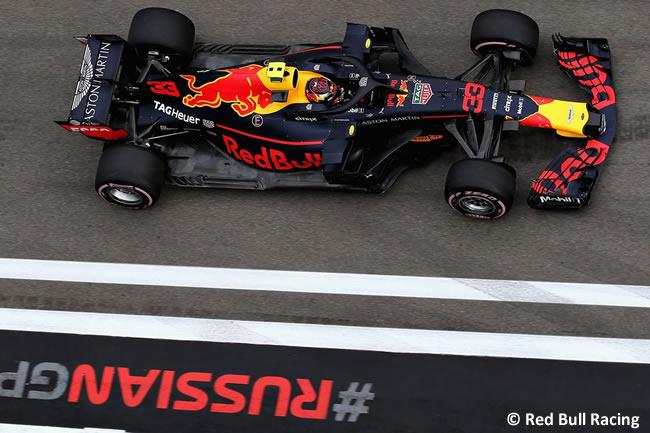 Max Verstappen - Red Bull - Entrenamientos Rusia 2018