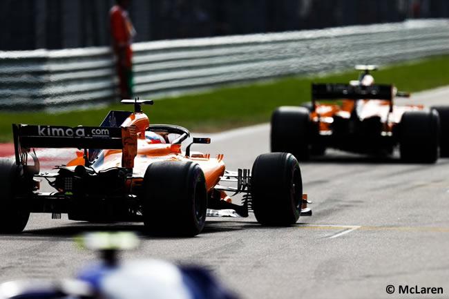 McLaren - Carrera GP Rusia 2018