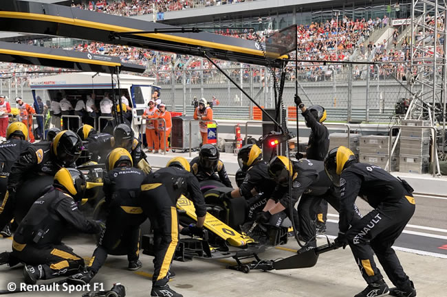 Nico Hulkenberg - Renault Sport - Carrera GP Rusia 2018
