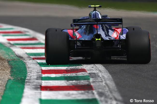 Pierre Gasly - Toro Rosso - Clasificación Gran Premio Italia 2018