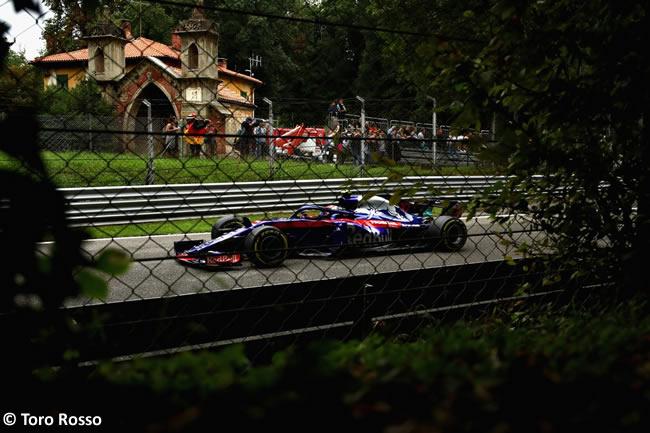 Pierre Gasly - Toro Rosso Entrenamientos Gran Premio Italia 2018