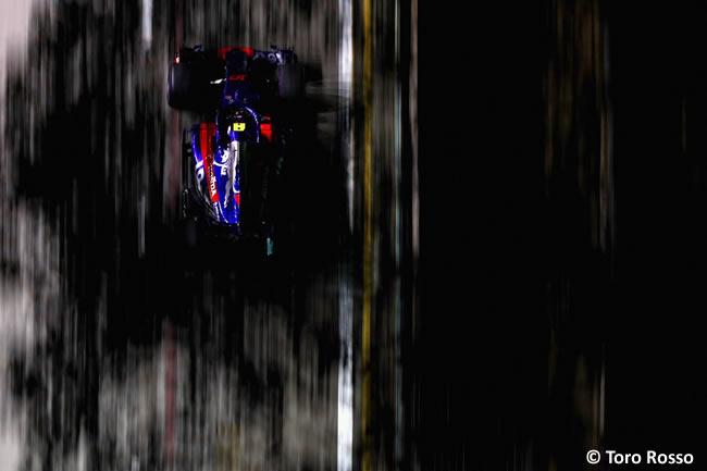 Pierre Gasly - Toro Rosso - Entrenamientos - GP Singapur 2018